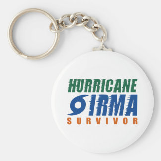 Hurricane Irma Survivor Keychain