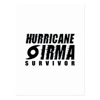 Hurricane Irma Survivor Postcard