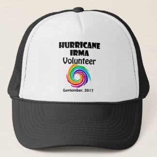 Hurricane Irma Volunteer 2017 Artwork Trucker Hat