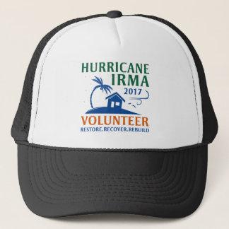 Hurricane Irma Volunteer Trucker Hat