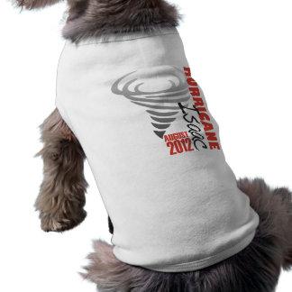 Hurricane Isaac Survivor Doggie T Shirt