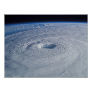 Hurricane Isabel from Space Poster