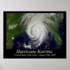 Hurricane Katrina Poster