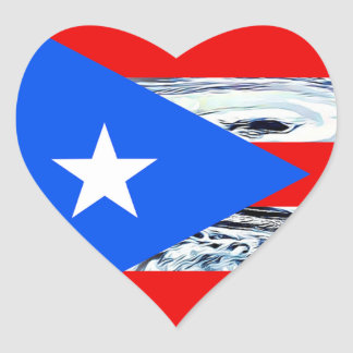 Hurricane Maria 2017 Puerto Rico Flag  Stickers