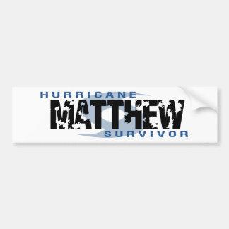 Hurricane Matthew October 2016 Bumper Sticker