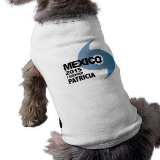 Hurricane Patricia Survivor Mexico 2015 Dog Tshirt