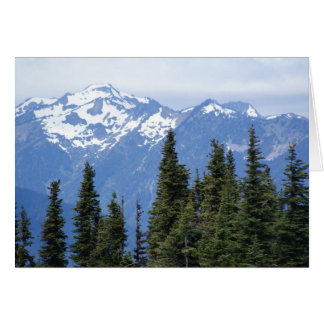 Hurricane Ridge at Olympic National Park Card
