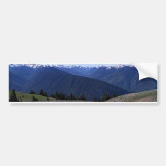 Hurricane Ridge-Olympic Nat'l Park Bumper sticker