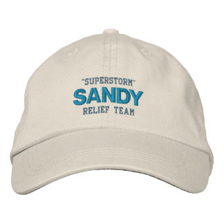 HURRICANE SANDY cap Embroidered Hats