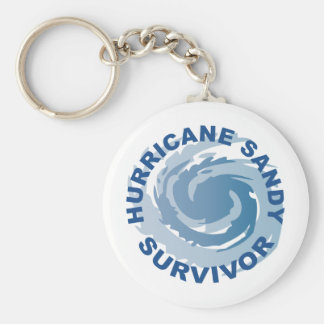 Hurricane Sandy Survivor 2012 Keychain