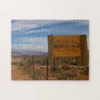 Hurricane Valley Utah. Jigsaw Puzzle