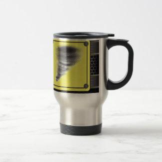 Hurricane Warning Sign Travel Mug