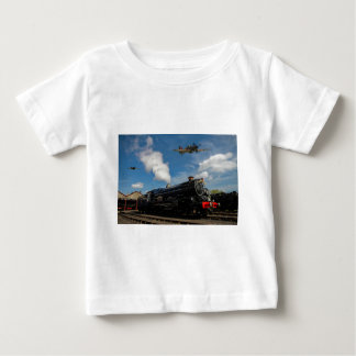 Hurricanes and steam train baby T-Shirt
