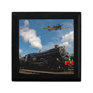 Hurricanes and steam train jewelry boxes