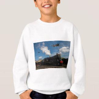 Hurricanes and steam train sweatshirt