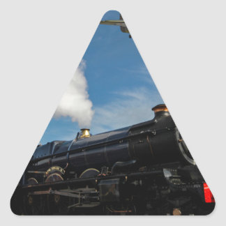 Hurricanes and steam train triangle sticker