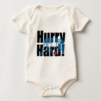 Hurry Hard! curling Bodysuit