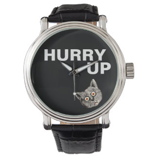 HURRY UP WRIST WATCHES
