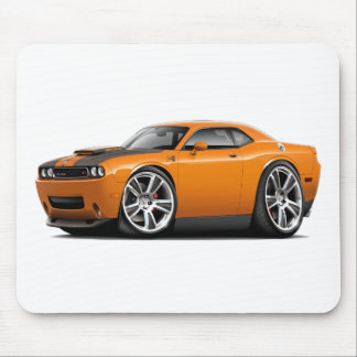 Hurst Challenger Orange Car Mouse Pad