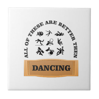 hurt better then dancing ceramic tile