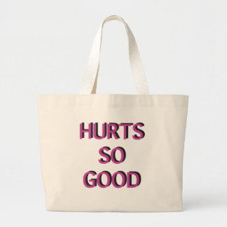 Hurts So Good Workout Bag - Pink and Black