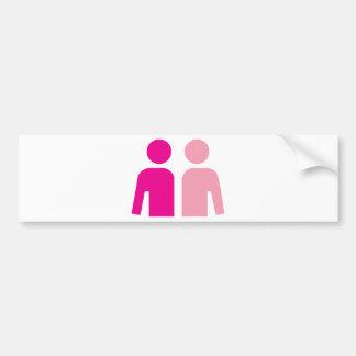 Husband and Wife Bumper Sticker