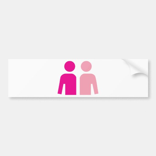 Husband and Wife Bumper Stickers