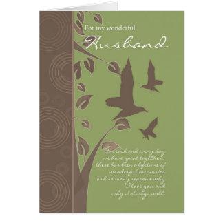 husband birthday card - birthday greeting card for