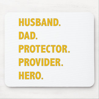 Husband, Dad Mouse Pad
