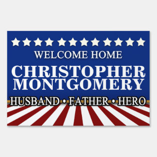 Husband/Father Military Welcome Home