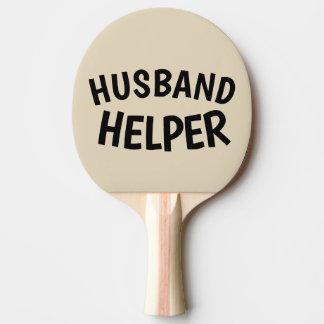 HUSBAND HELPER, Spanking Paddles, Wedding Gift Ping Pong Paddle