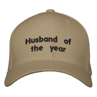 Husband of the Year Embroidered Hat