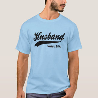 Husband Since 1984 T-Shirt