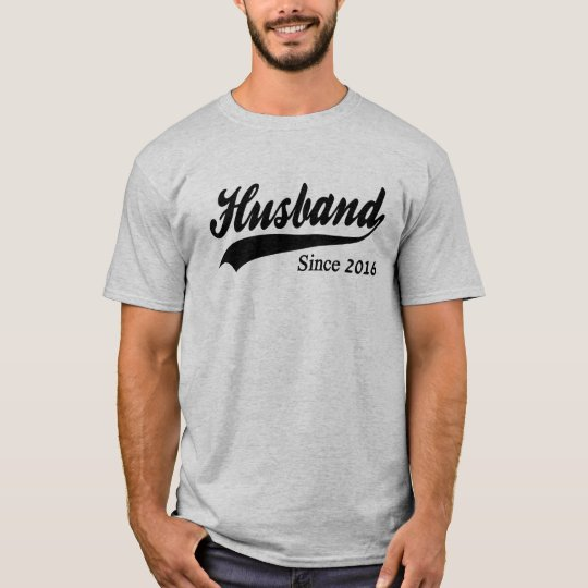 Husband Since 2016 T-Shirt