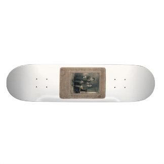 husband&wife custom skate board