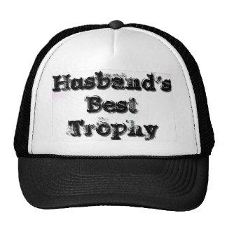 Husband's Best Trophy Trucker Hat