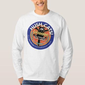 Hush Cats Tee, Long-sleeve T-Shirt