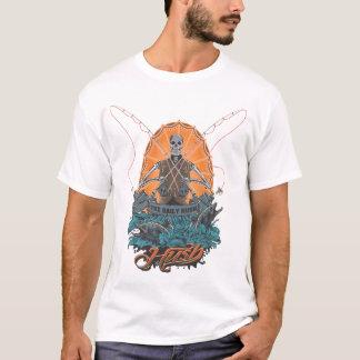 hush skull fly fish T-Shirt