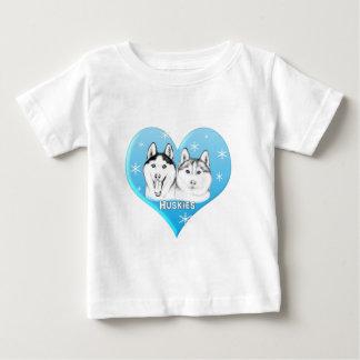 Huskies Blue Baby T-Shirt