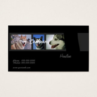 Huskies Business Card