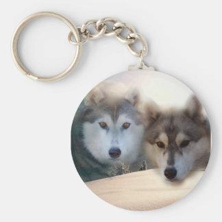 huskies keychain