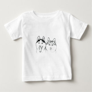 huskies Love Baby T-Shirt