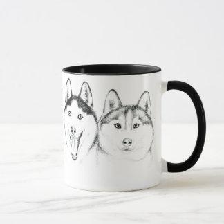 huskies Love Mug