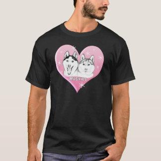 Huskies Pink T-Shirt