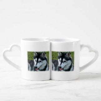husky-2 coffee mug set