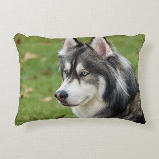 Husky Accent Pillow