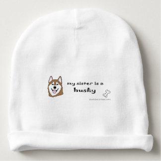 husky baby beanie