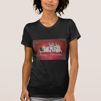 Husky christmas T-Shirt