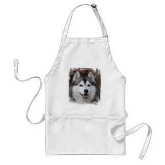 Husky Dog Apron