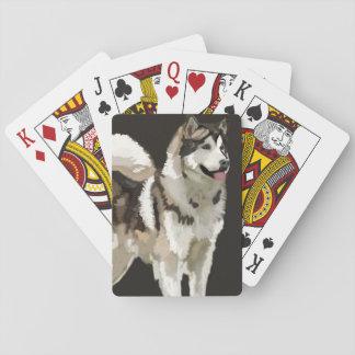 Husky Dog  Classic Playing Cards